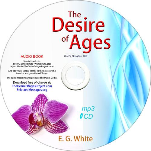 The Desire of Ages | mp3 CD image
