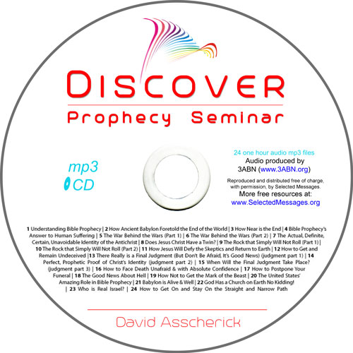 DISCOVER Prophecy Seminar | mp3 CD image