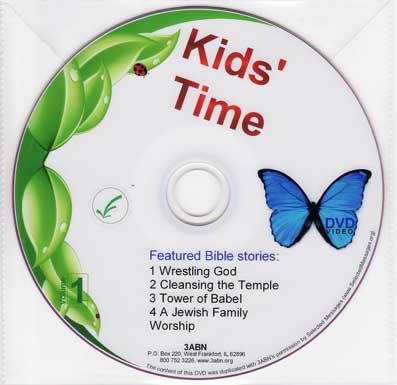 Kids' Time volume 1 | DVD image